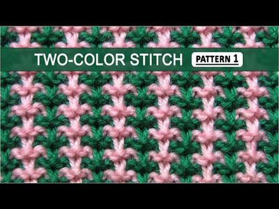 Two-Color Stitch Pattern #1 - 12.8.2014