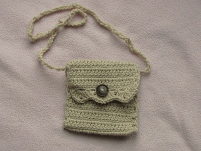 VERY EASY crochet purse tutorial - how to crochet a bag