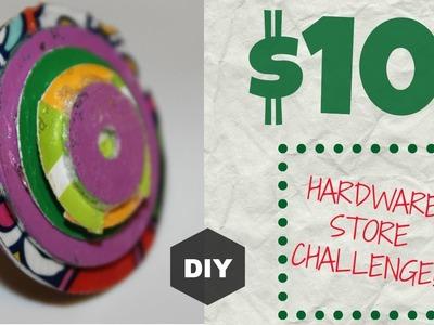$10 HARDWARE STORE CHALLENGE: RING | HGTV HANDMADE
