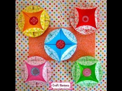 Craft Maniacs 6: Tea Bag Folding 6: Medallion