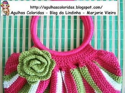 Crochet swag bag