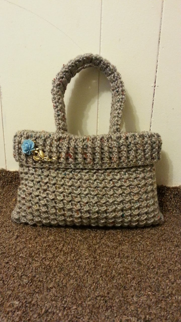 #Crochet womens Handbag Purse #TUTORIAL Crochet adult DIY crochet