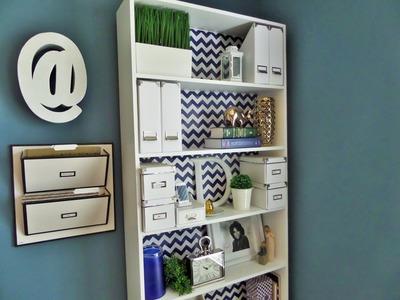 DIY: $3 Bookcase Makeover
