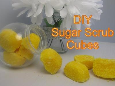 {DIY Beauty} DIY Sugar Body Scrub Cubes