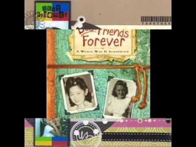 DIY Best friend scrapbook projects ideas