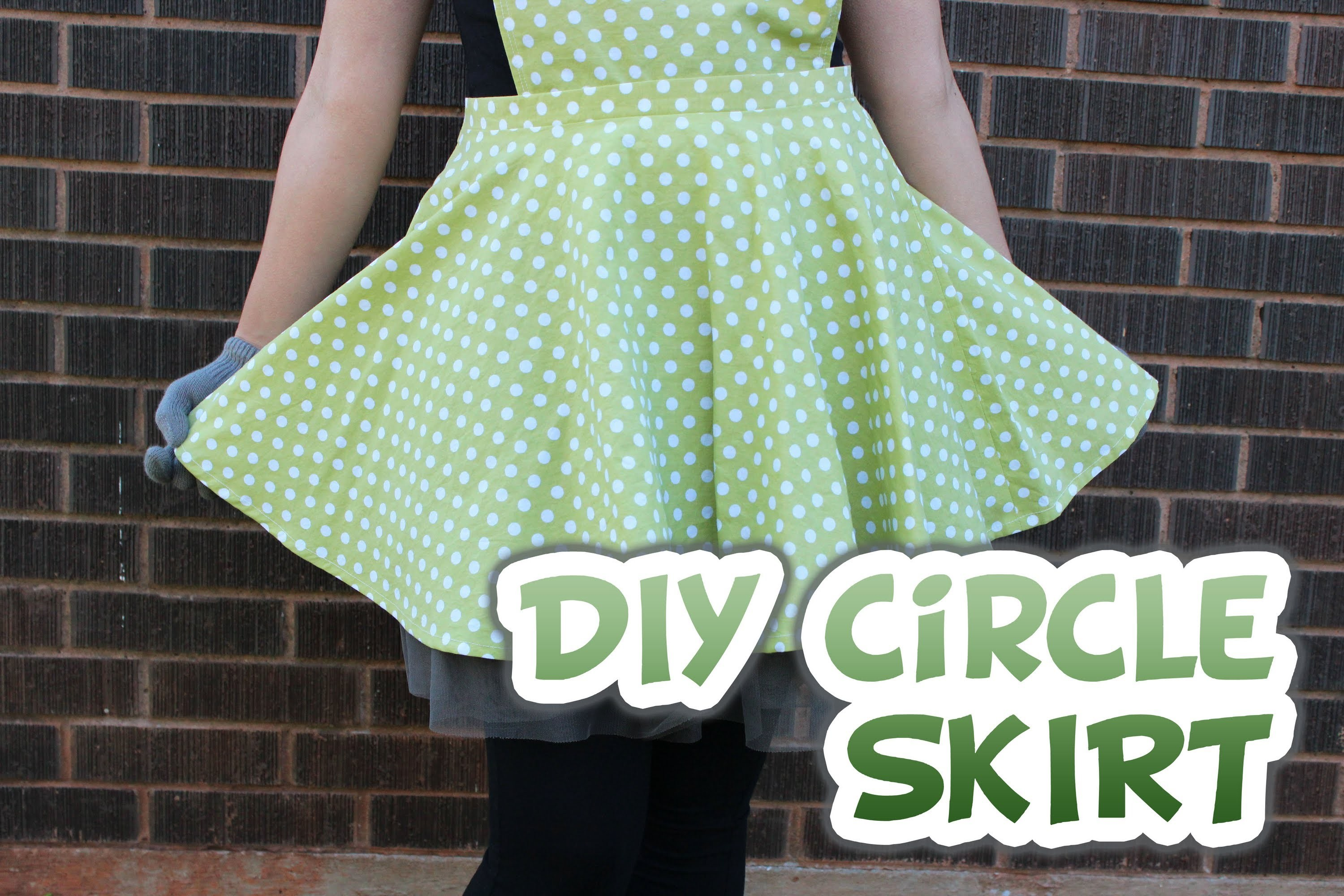 DIY Circle Skirt (With Zipper) - Whitney Sews