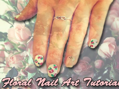 ❀ DIY Floral Nail Art Tutorial ❀