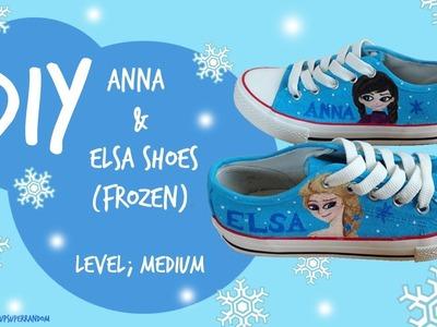 DIY Frozen Shoes tutorial! (Level; Medium)