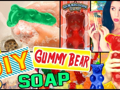 DIY Gummy Bear Soap! | Possible Room Decor! | Make Soap Into Gummy Bears!