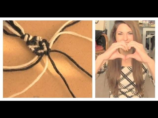 DIY: Heart Stitch Friendship Bracelet