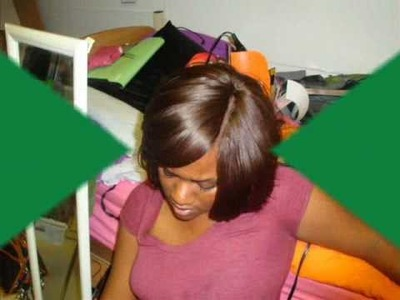 DIY:Invisible Part weave!