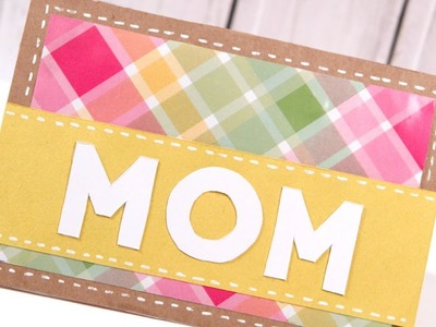 DIY Mother's Day Card -- Make a Card Monday #249
