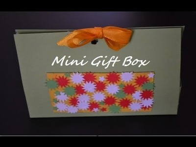 DIY Origami Candy Box - Tutorial