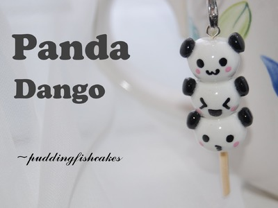 DIY Panda Dango Polymer Clay Charm Tutorial
