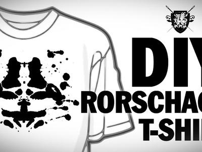 DIY Rorschach T-Shirt Threadbanger