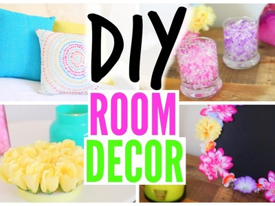 DIY Spring Room Decor From The Dollar Store! CHEAP & SIMPLE!