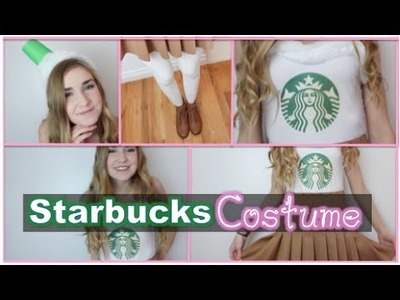 Diy: Starbucks Drink Costume~Easy & Cute for Halloween!