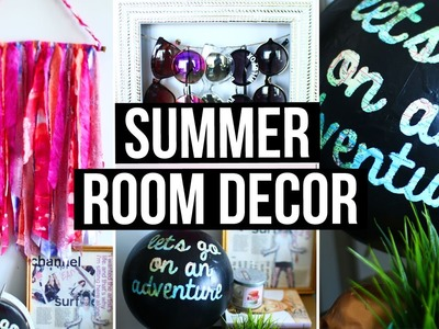 DIY Summer Room Decor! Cute Room Accessories & Wall Decor | LaurDIY