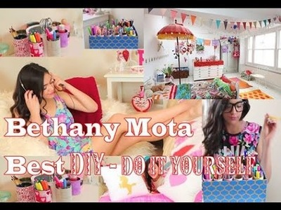 Do It Yourself With Bethany Mota | Bethany Mota DIY Best Videos