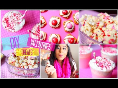 Easy DIY Valentines Day Treats! | Yummy + Quick! 2015