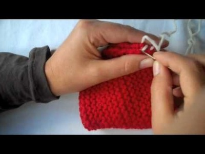 How to Knit: Seaming
