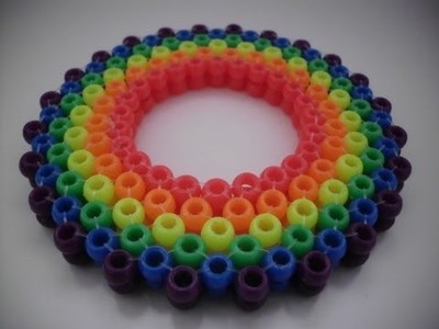 How to make kandi.pony beads: 3D ladder