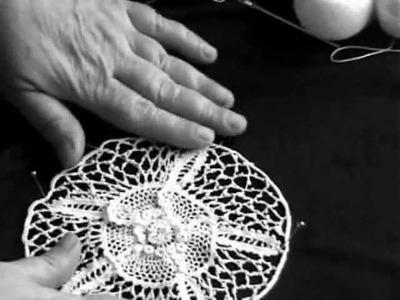 Irish Crochet Lace, Picot background