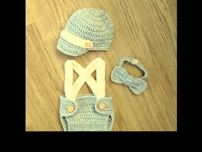 Learn to crochet diaper cover