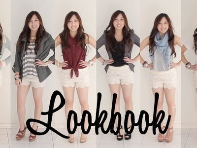 Lookbook - How to wear Crochet Shorts