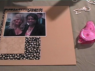 Making Layouts with CTMH Scrapbooking Patterns, Part I