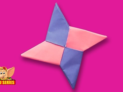 Origami - How to Make a Ninja Star