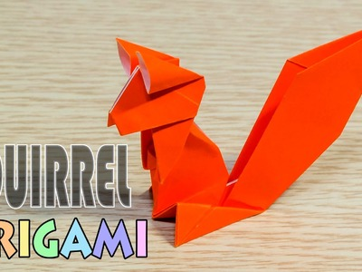 Origami Squirrel : simple and easy paper chipmunk