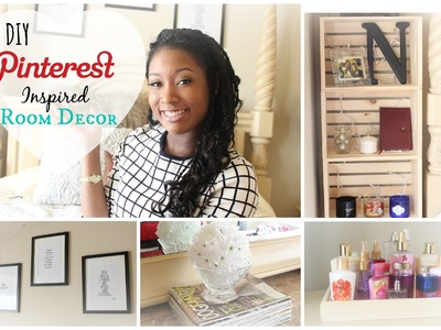 Pinterest Inspired DIY Room Decor 2015| Nikki G