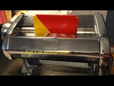 Polymer Clay Kaleidoscope Cane with Premo