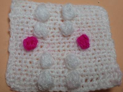 Punto bodoque crochet