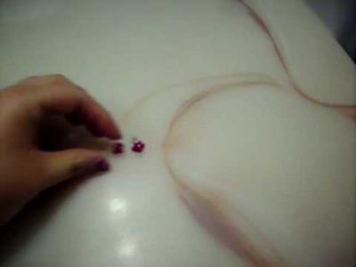 Sailor Moon: Kino Makoto. Jupiter rose earrings for cosplay