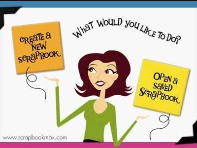 Scrapbook MAX! - Add a Paper Scrap - Digital Scrapbooking Software Tutorials