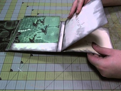 Scrapbook Tutorial: Waterfall Flip Book