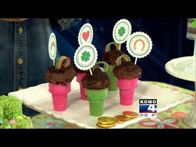 St. Patrick's Day Food and Crafts with KOMO-TV DIY Diva Malia Karlinsy