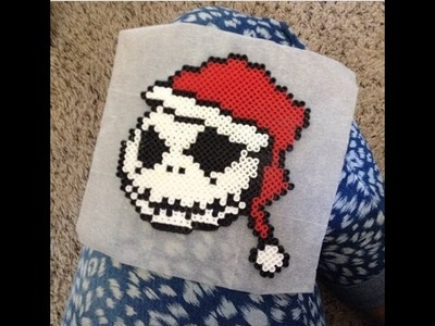 ♥ THE NIGHTMARE BEFORE CHRISTMAS SANTA JACK♥ (PEARLER BEADS) TUTORIAL