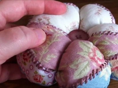 ~Tutorial: Sew a patchwork pincushion~
