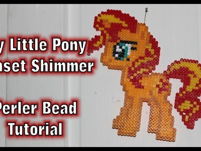 [TUTORIAL] Sunset Shimmer - Perler Beads My Little Pony