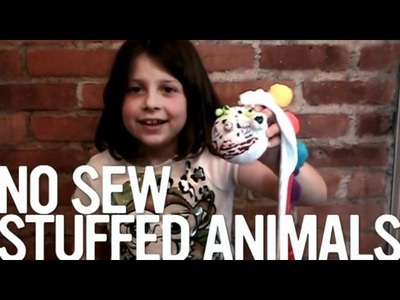 Unbored: How to Make a No-Sew Stuffed Animal