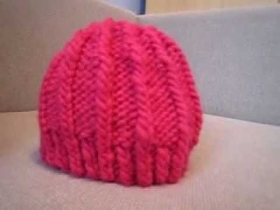 Warmy - a chunky hat to knit for the holidays