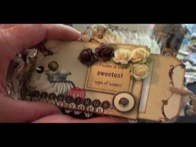 Websters Pages Scrapbook Mini Album & Scripture