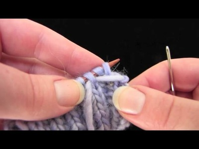 2x2 Invisible Ribbed Bind-Off