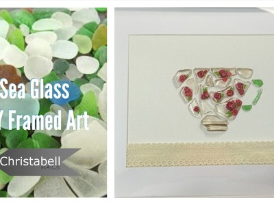 Beach Glass Framed Art - DIY Project