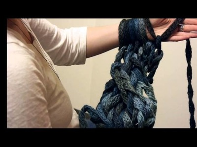 Cabled Arm Knitting