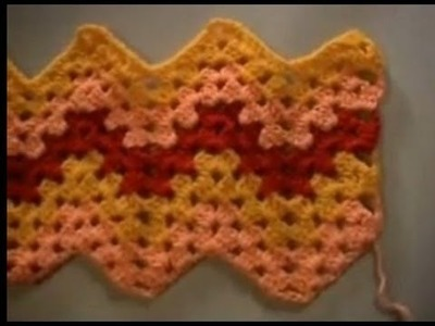 Crochet Granny Ripple Part 3 of 4