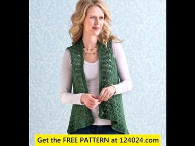 Crochet vest for beginners